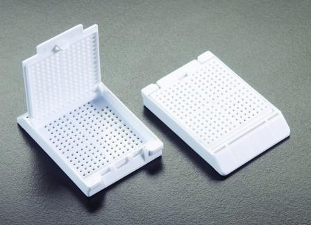 Slimsette Biopsy Cassettes W/Attached Lids 1500/Case