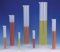 Cylinder Double Graduated 50ml