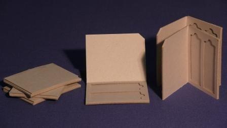 Cardboard Double Slide Mailer