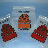 Biohazard Specimen Bags 6x9