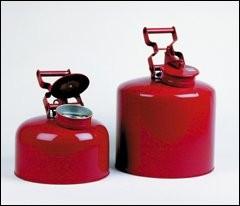 Safety Can Justrite - Non-Metalic 5 Gallon